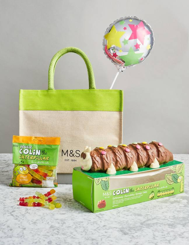 Colin the Caterpillar has always been a birthday favourite (Credit: M&S)