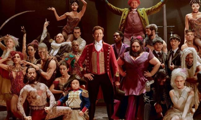 'The Greatest Showman' event will take place on five dates in October (Credit: 20th Century Fox)