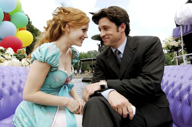 Patrick Dempsey and Amy Adams are back (Credit: Walt Disney Productions)