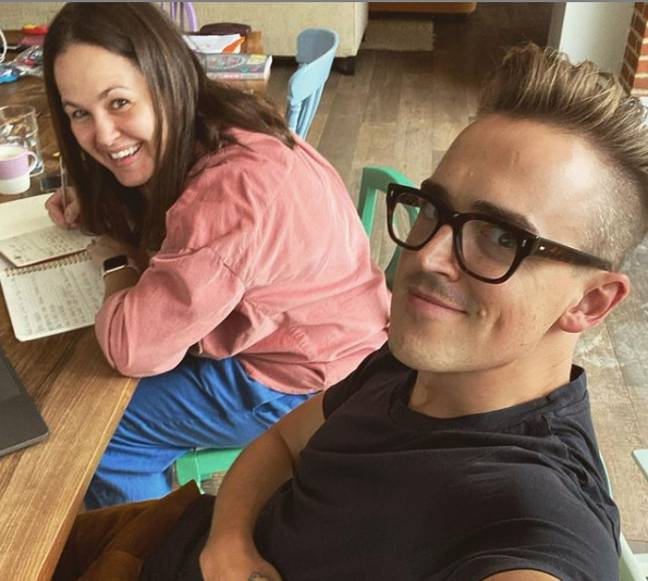 Tom and Giovanna have been together almost eight years (Credit: Instagram/ Tom Fletcher)
