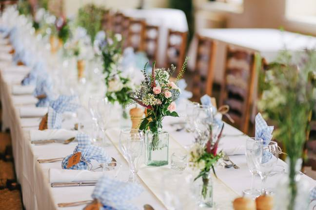 Many couples are struggling to rebook their weddings in 2020 (Credit: Unsplash)