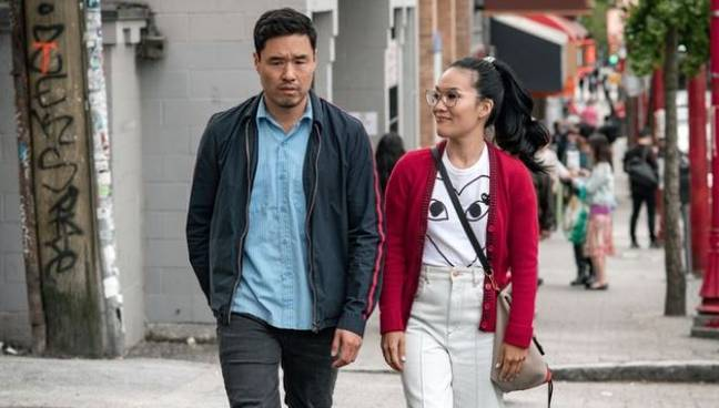 The film stars Randall Park and Ali Wong, who also wrote the script. Credit: Netflix