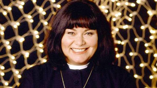 The first of three Christmas specials saw Dawn French's Reverend Geraldine Grainger return to our screens (Credit: BBC)