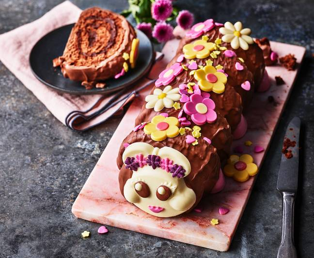 M&S are introducing a new 'flower power' Connie the Caterpillar cake (Credit: M&S)