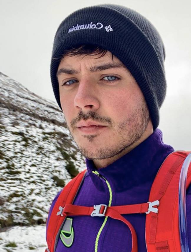 We're loving Brad's commitment to a hike (Credit: Brad McClelland/Instagram)