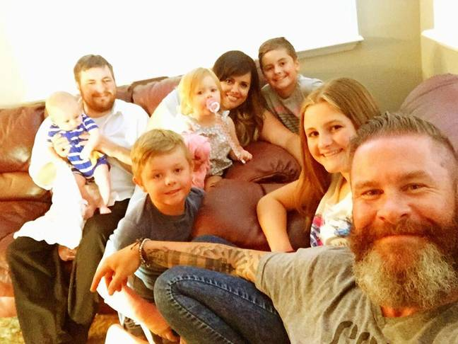 A dad-of-three shared an emotional post about him and his ex-wife's new husband becoming pals (Credit: Kennedy News and Media)