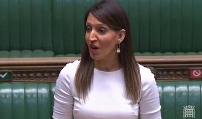 Dr Rosena had simply questioned the government on coronavirus testing (Credit: BBC)
