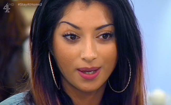 Mula explained that her waist trainer gave her diarrhoea (Credit: Channel 4)