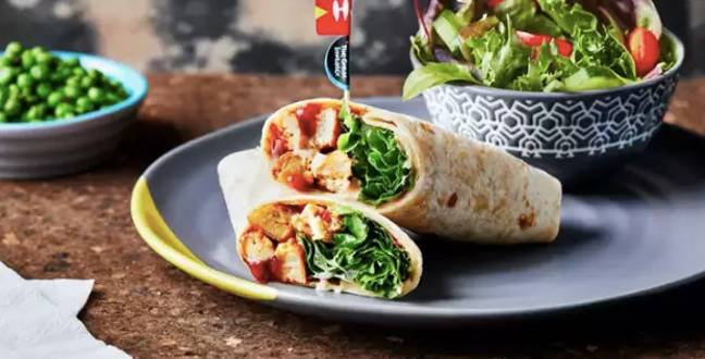 You may also grab a wrap if you so wish (Credit: Nando's)