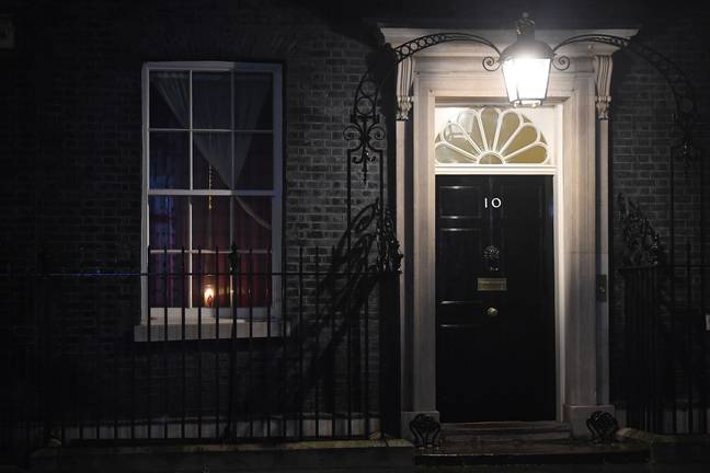 Downing Street has now removed the ad (Credit: PA)