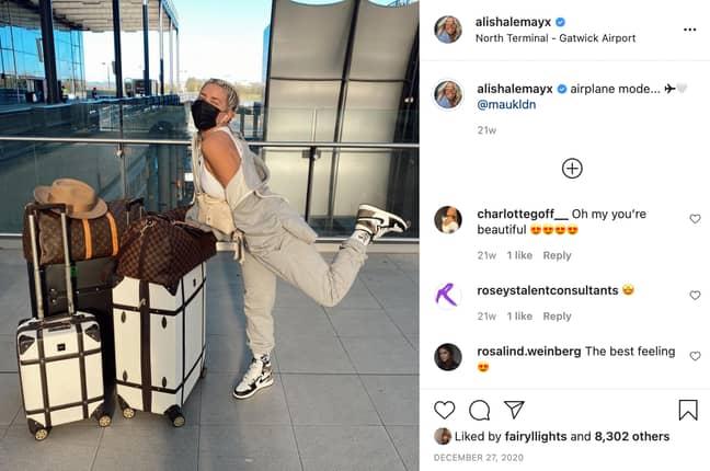 Love Island cast 2021 Alisha LeMay (Credit: Instagram/alishalemayx)