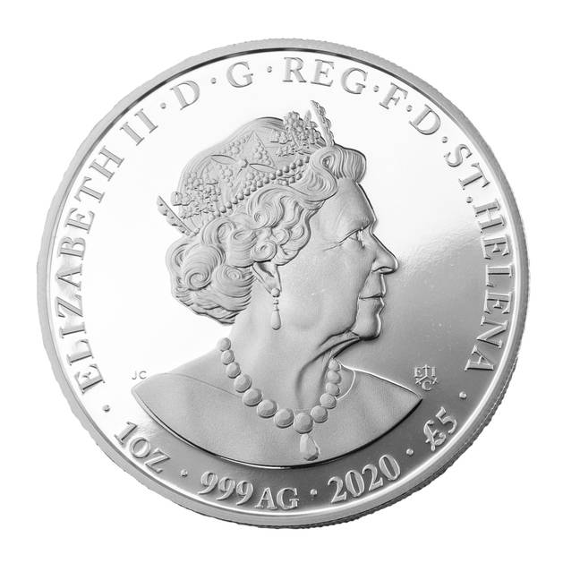 The coin is dedicated to NHS Heroes and all profits go to charity (Credit: The East India Company)