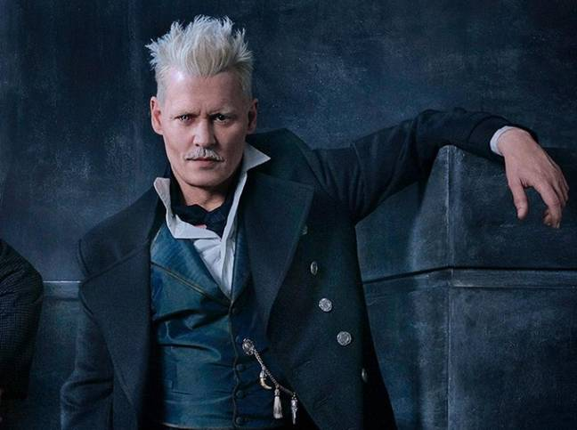 Johnny Depp starred as Grindlewald in the first two films (Credit: Warner Bros.)