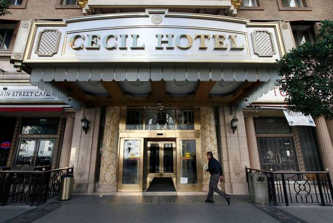 Horror at the Cecil Hotel is a three part series which takes a look at three different murder cases (Credit: Shutterstock)