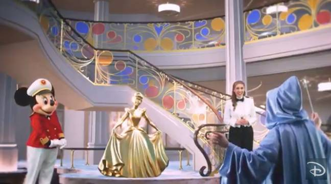 Disney has just unveiled its latest cruise ship - and it looks truly magical (Credit: Disney)