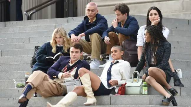 The next generation are on those iconic Met steps once more (Credit: HBO Max)