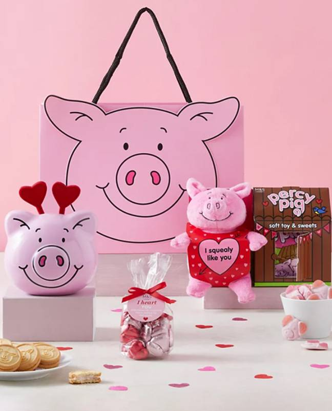You can also get an 'All The Percy Love Gift Bag' (Credit: M&S)