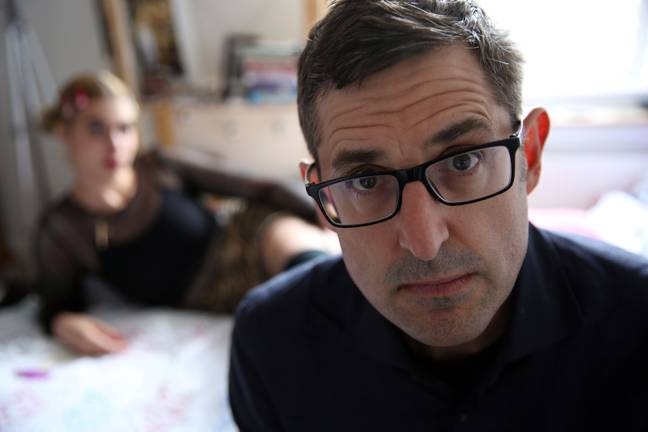 Louis Theroux's latest documentary tackling the subject of prostitution in the 21st Century (Credit: BBC)