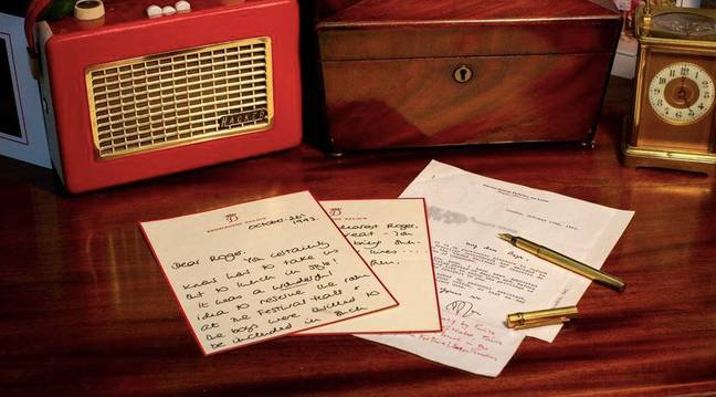A number of the Princess's letters are for sale (Credit: DAVID LAY AUCTIONS)