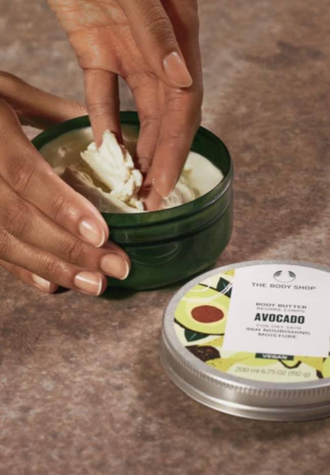 The Avocado Body Butter has