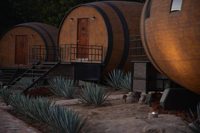 Matices Hotel de Barricas means literally 'Hotel of Barrels' (Credit: Matices Hotel de Barricas)