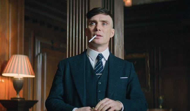 Tommy Shelby is grappling with his thoughts (Credit: BBC)