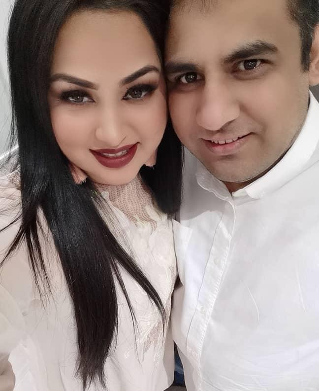 Tasleem's husband Raja wanted to cheer her up ((Credit: Kennedy News & Media)