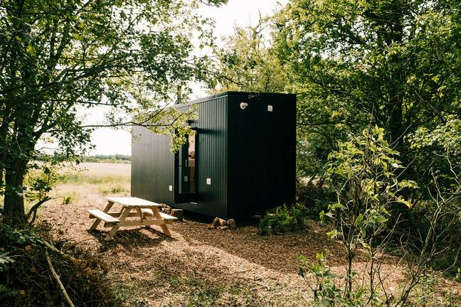 Unplugged overlooks the glorious Essex countryside (Credit: Kennedy)