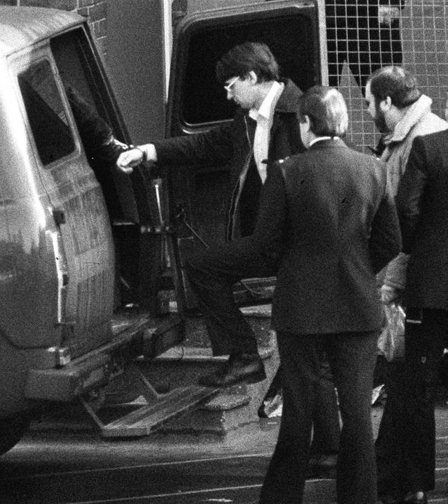 Dennis Nilsen was discovered when his drains were blocked (Credit: PA Images)