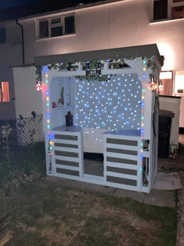 Claudia called her bar 'The Jones Inn' (Credit: Claudia Louise Jones/Extreme Couponing and Bargains UK Group)