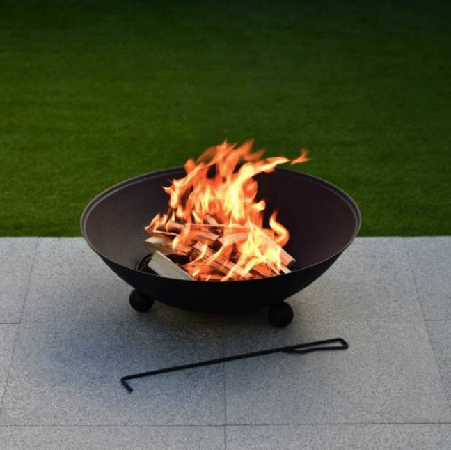 The Chicago fire pit comes in at just £25 (Credit: B&M)
