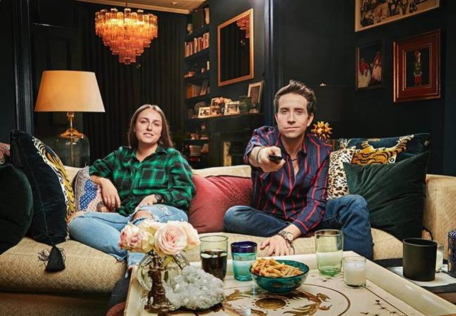 Radio favourite Nick Grimshaw will once again be joined on the settee by his niece Liv (Credit: Channel 4)