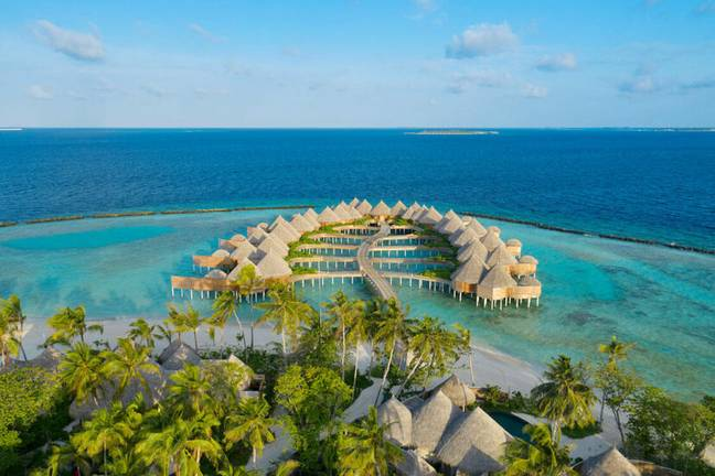Imagine views like this from your desk (Credit: The Nautilus Maldives)