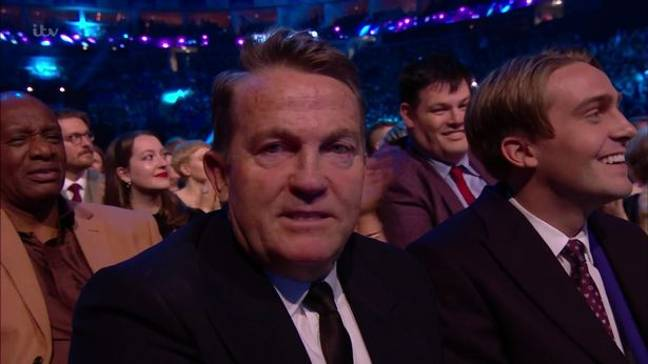Bradley needs to practice his 'gracious loser' face (Credit: ITV)