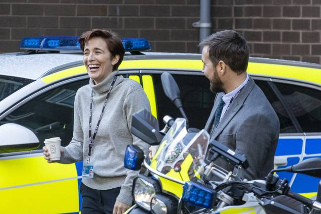 Vicky plays Kate Fleming in the show (Credit: BBC)