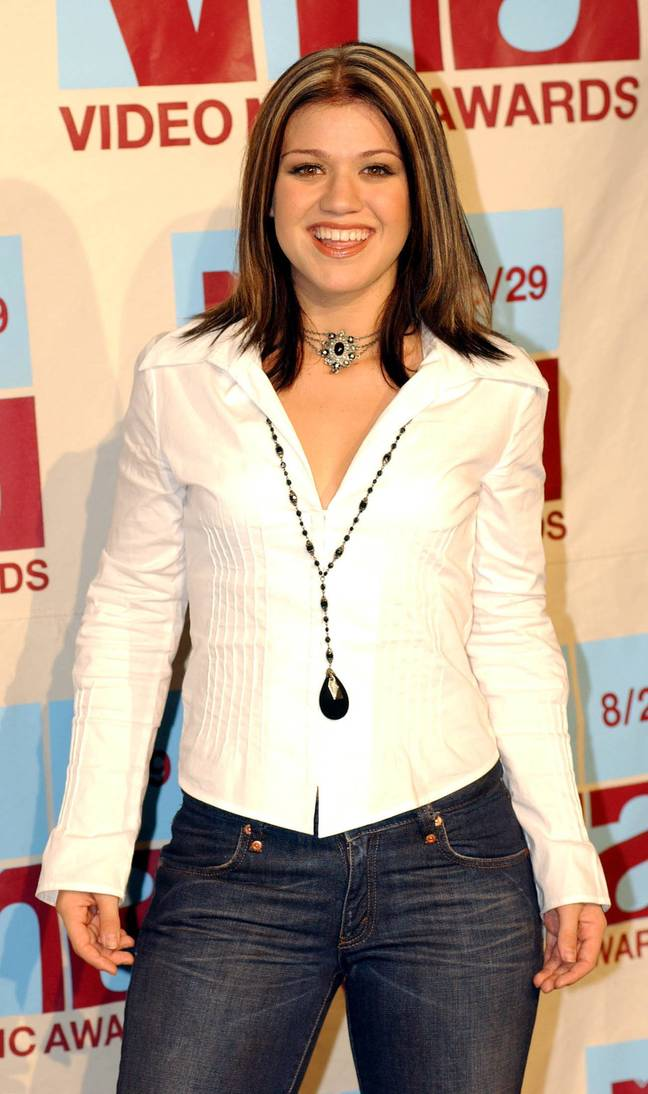 Kelly Clarkson sported the look during her 2002 stint on 'American Idol'. (Credit: PA)