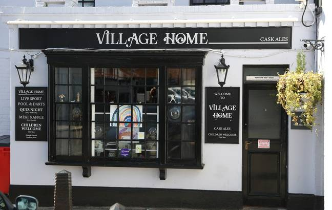 The Village Home pub in Alverstoke has also temporarily shut up shop (Credit: PA)