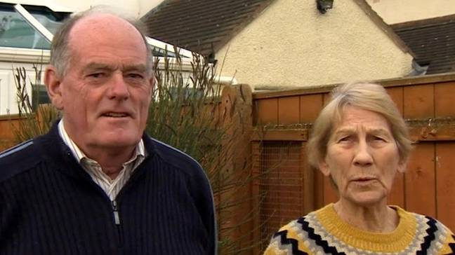 Steven's parents Charles and Doris Clark (Credit: BBC)
