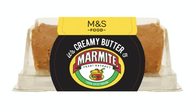 Marmite butter has also arrived in M&S (Credit: M&S)