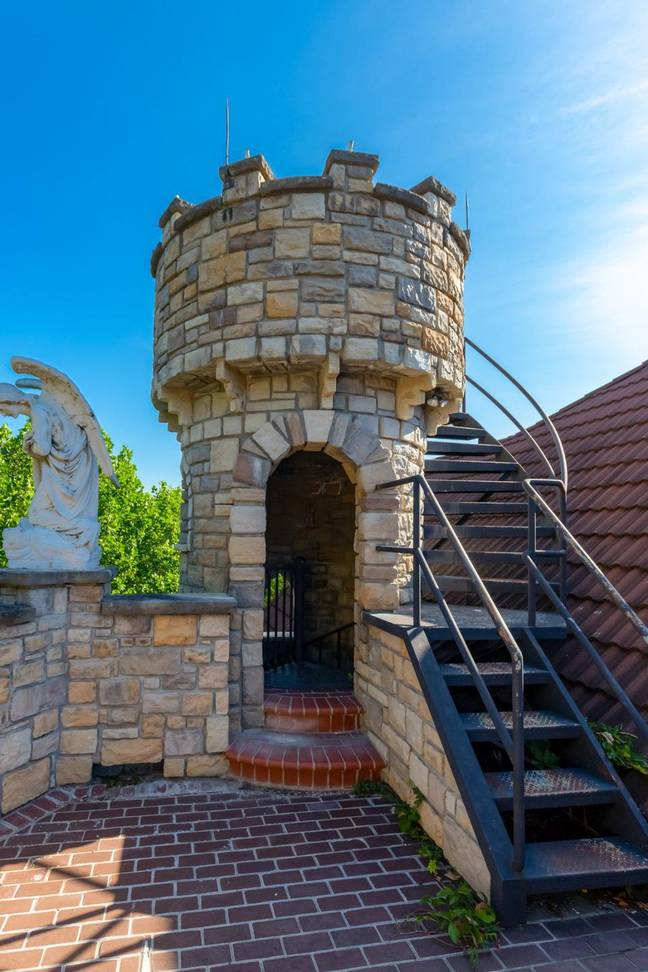 An actual turret (Credit: Crown Realty)