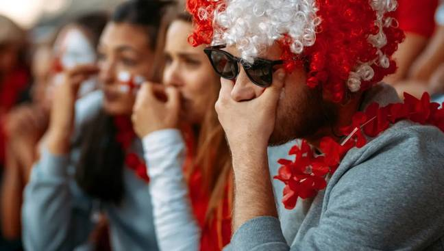 England fans were left heartbroken after Italy won (Credit: PA)
