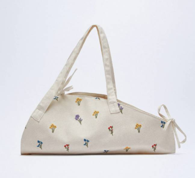 The bag is priced at £19.99 (Credit: Zara)