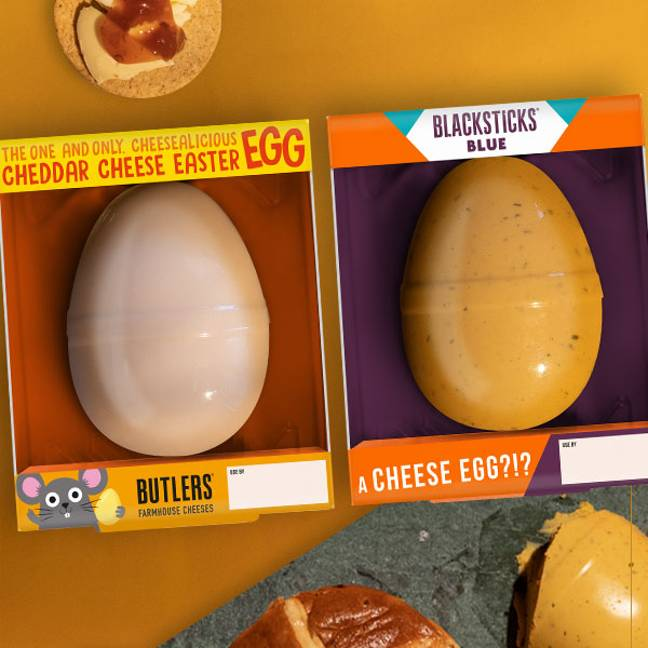 You can get not one but two eggs for £8 (Credit: Butlers Farmhouse Cheeses)
