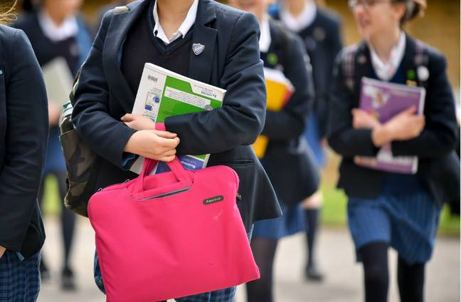 Branded school uniforms can cost triple the price (Credit: PA)