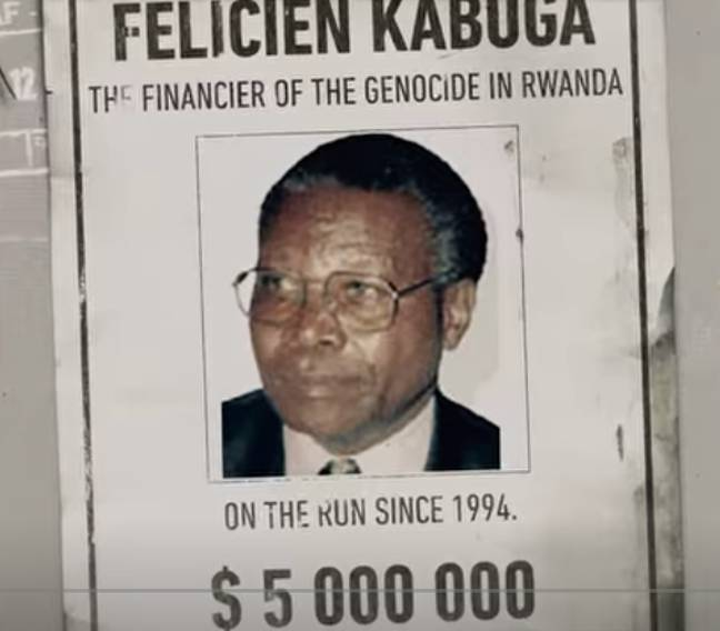 Félicien Kabuga is one of the criminals explored on the show (Credit: Netflix)