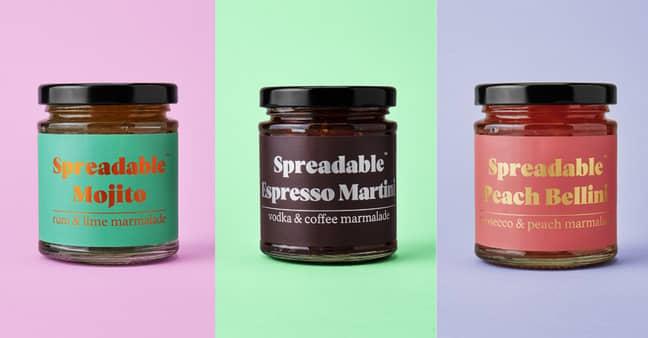 The 225g jars are £9.99 apiece (Credit: Firebox)