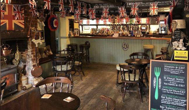 The pub is prized for its gluten free menu (Credit: Kennedy News & Media)