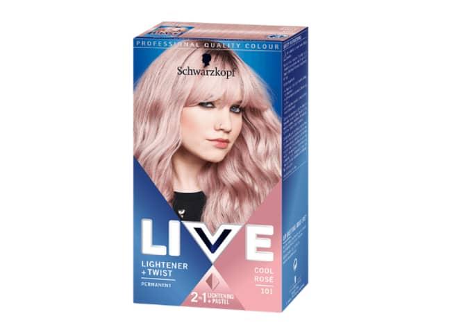 She used a pink hair dye by Schwarzkopf (Credit: Schwarzkopf)