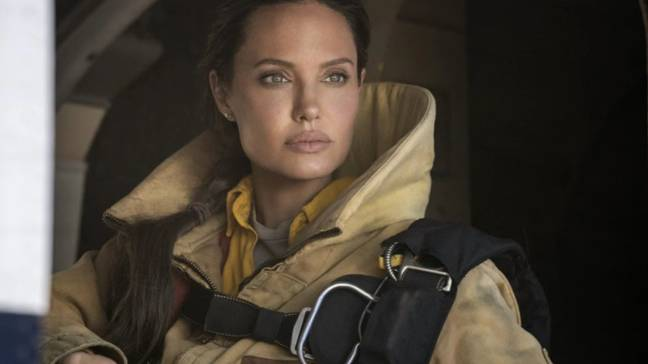 Angelina's character is 'broken' - something she says she can relate to (Credit: Warner Media.)