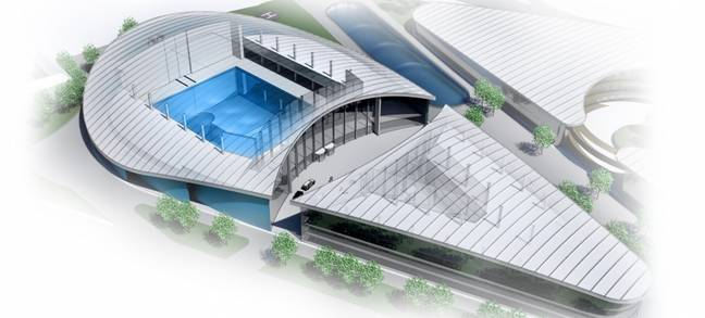 The deep pool could be coming to Cornwall (Credit: Blue Abyss)